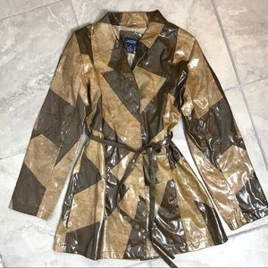 Vintage Patent Leather Jacket